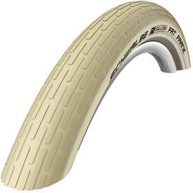 SCHWALBE Fat Frank Band Active, 28 inch, SBC, draad, creme-reflex